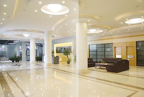广州天圣办公楼内堂