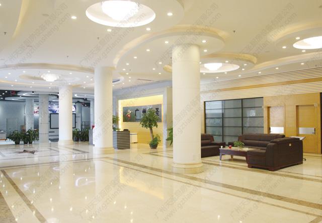 天圣亚博国际网页登录公司内部大堂实景图
