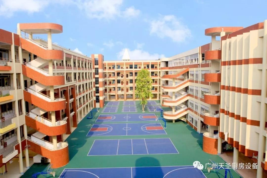 广州天圣碧桂园国际学校厨房改造项目回顾3