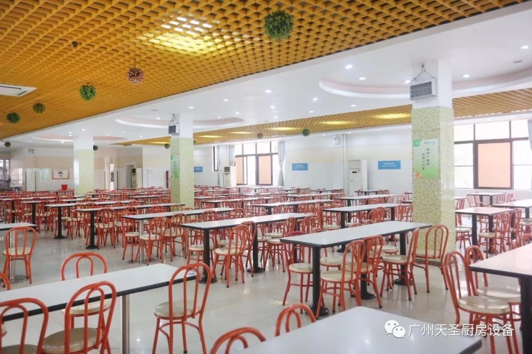 广州天圣碧桂园国际学校厨房改造项目回顾4