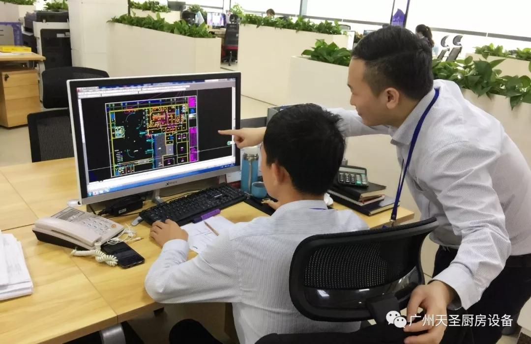 广州天圣碧桂园国际学校厨房改造项目回顾8