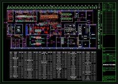 酒店商用中央厨房的CAD设计图和案例