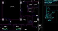 河南漯河职中食堂厨房工程详细CAD设计图