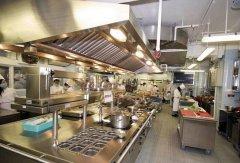 餐饮厨房设备摆放需要注意哪些内容?