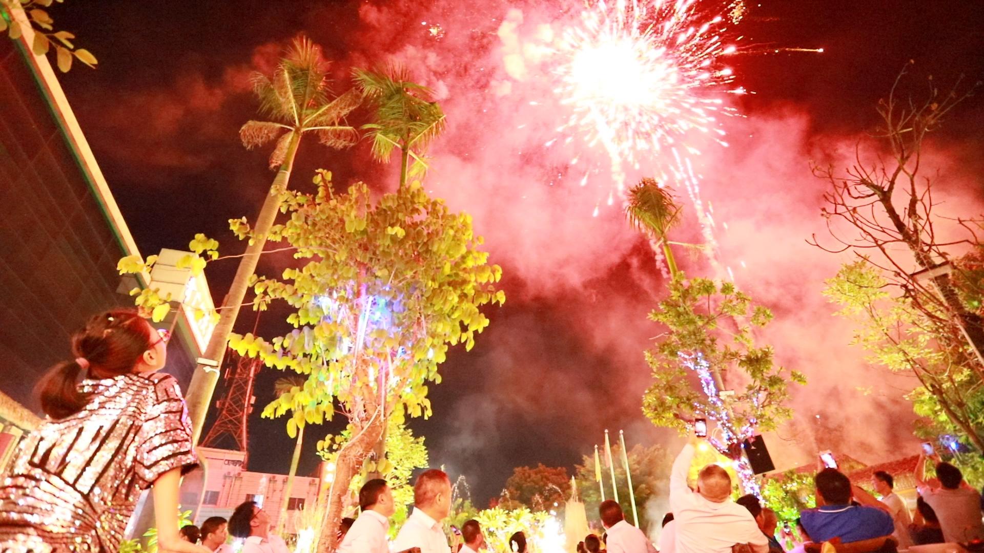 广州天圣五周年庆——烟花盛宴